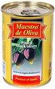 Фото Maestro de Oliva маслины черные без косточки 280 г