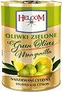Фото Helcom оливки зеленые фаршированные лимоном 280 г