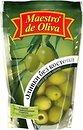 Фото Maestro de Oliva оливки зеленые без косточки 170 г