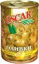 Фото Oscar оливки зеленые с лимоном 300 г
