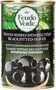 Фото Feudo Verde маслины черные без косточки 300 г