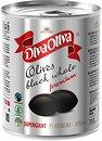 Фото Diva Oliva маслины черные с косточкой Супергигант 850 мл