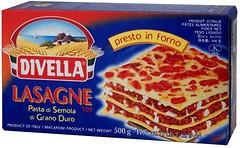 Фото Divella Lasagne di Semola №109 500 г