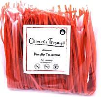 Фото Світові традиції Лапша рисовая томатна 300 г