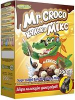Фото Золоте Зерно сухой завтрак Микс шарики с какао и молоком 200 г