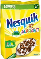 Фото Nesquik сухой завтрак Alphabet шоколадный 460 г