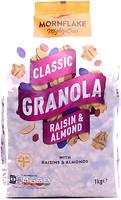Фото Mornflake гранола Classic Granola Raisin & Almond 1 кг