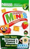 Фото Nestle сухой завтрак Strawberry Minis 250 г