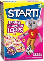 Фото Start сухой завтрак со вкусом клубники и банана 250 г