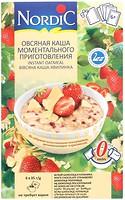 Фото NordiC овсяная каша с белым шоколадом и клубникой 6x 35 г