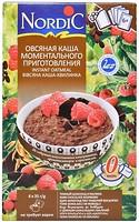 Фото NordiC овсяная каша с черным шоколадом и малиной 6x 35 г