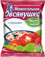 Фото Овсянушка каша овсяная с земляникой 40 г