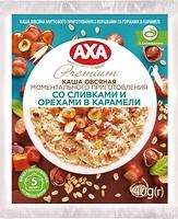 Фото АХА каша овсяная со сливками и орехами в карамели 40 г