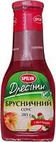 Фото Spilva соус-дрессинг брусничный с яблоками 285 г