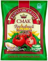 Фото Королівський смак майонезный соус Весняний 40% 380 г