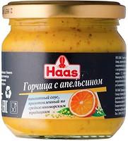 Фото Haas горчица с апельсином 210 г