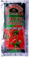 Фото Королівський смак паста томатная Власівська 25% 70 г