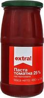 Фото Extra! томатна паста 25% 480 г