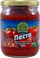 Фото Дари ланів томатна паста 25% 520 г