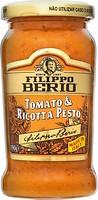Фото Filippo Berioi соус Песто с томатами и сыром рикотта 190 г