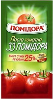 Фото Помидора паста томатна 33 помідора 25% 70 г