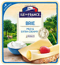 Фото Ile De France Brie Mild and Extra-Creamy нарезка 150 г