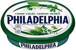 Фото Philadelphia Kraft Foods Philadelphia с зеленью фасованный 175 г