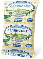 Фото Селянське молоко ультрапастеризованное 0.5% 900 мл