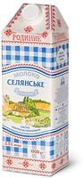 Фото Селянське молоко ультрапастеризованное Семейное 2.5% 1.5 л