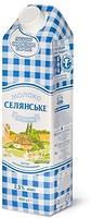 Фото Селянське Молоко ультрапастеризованное Особенное 2.5% 950 мл