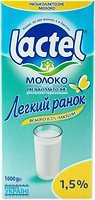 Фото Lactel молоко Доброе утро ультрапастеризованное 1.5% 1 л
