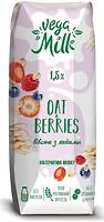 Фото Vega Milk овсяное с ягодами 1.5% 250 мл