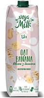 Фото Vega Milk овсяное с бананом 1.5% 950 мл