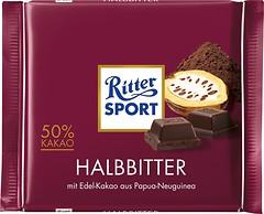 Фото Ritter Sport черный Halbbitter 100 г