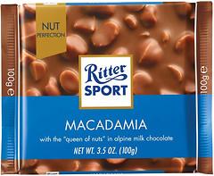 Фото Ritter Sport молочный Macadamia 100 г
