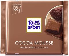 Фото Ritter Sport молочный Какао-мусс (Cocoa-Mousse) 100 г