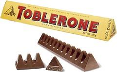 Фото Toblerone Молочный с медом и миндальной нугой 100 г