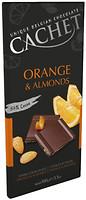 Фото Cachet черный Orange & Almonds 100 г