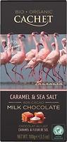 Фото Cachet молочный Caramel & Sea Salt organic 100 г