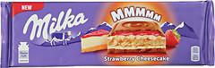 Фото Milka молочный Strawberry Cheesecake 300 г