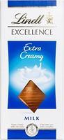 Фото Lindt Excellence молочный Extra Creamy 100 г