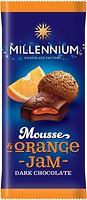 Фото Millennium черный Mousse с муссовой и апельсиновой начинкой 135 г