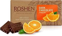 Фото Roshen черный с апельсиновой цедрой 90 г