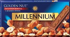 Фото Millennium молочный Golden Nut с цельным орехом 100 г