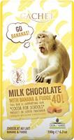 Фото Cachet Молочный Tanzania Banana & Fudge 180 г