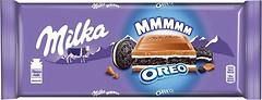 Фото Milka молочный с начинкой и печеньем Oreo 300 г