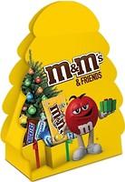 Фото M&M's шоколадный набор Friends Новогодняя елка 106.5 г