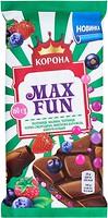 Фото Корона молочный Max Fan фруктово-ягодный 160 г