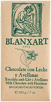 Фото Blanxart молочный с лесными орехами 33% 200 г