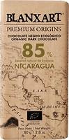 Фото Blanxart черный органический Nicaragua 85% 80 г